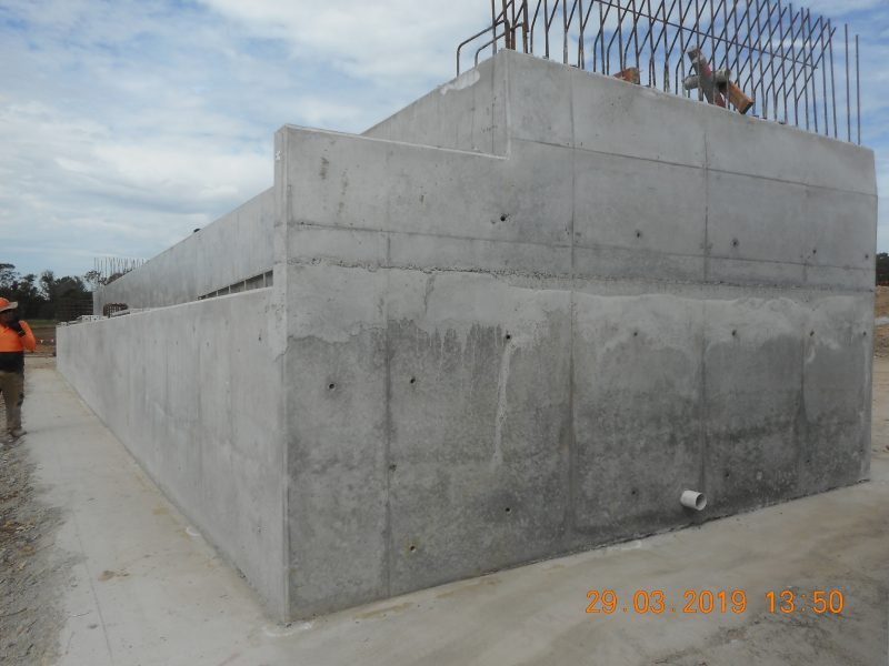 WSA - Abutment Concrete