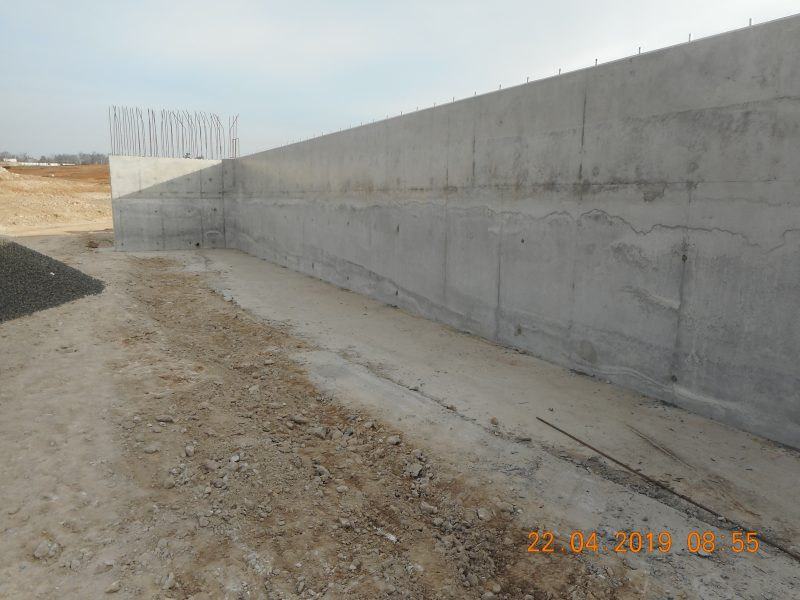 WSA - Concrete Abutment 2